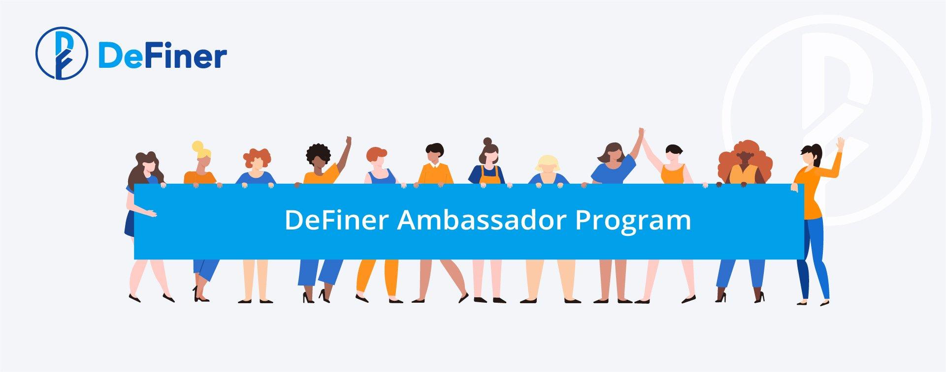 DeFiner Ambassador Program_blog