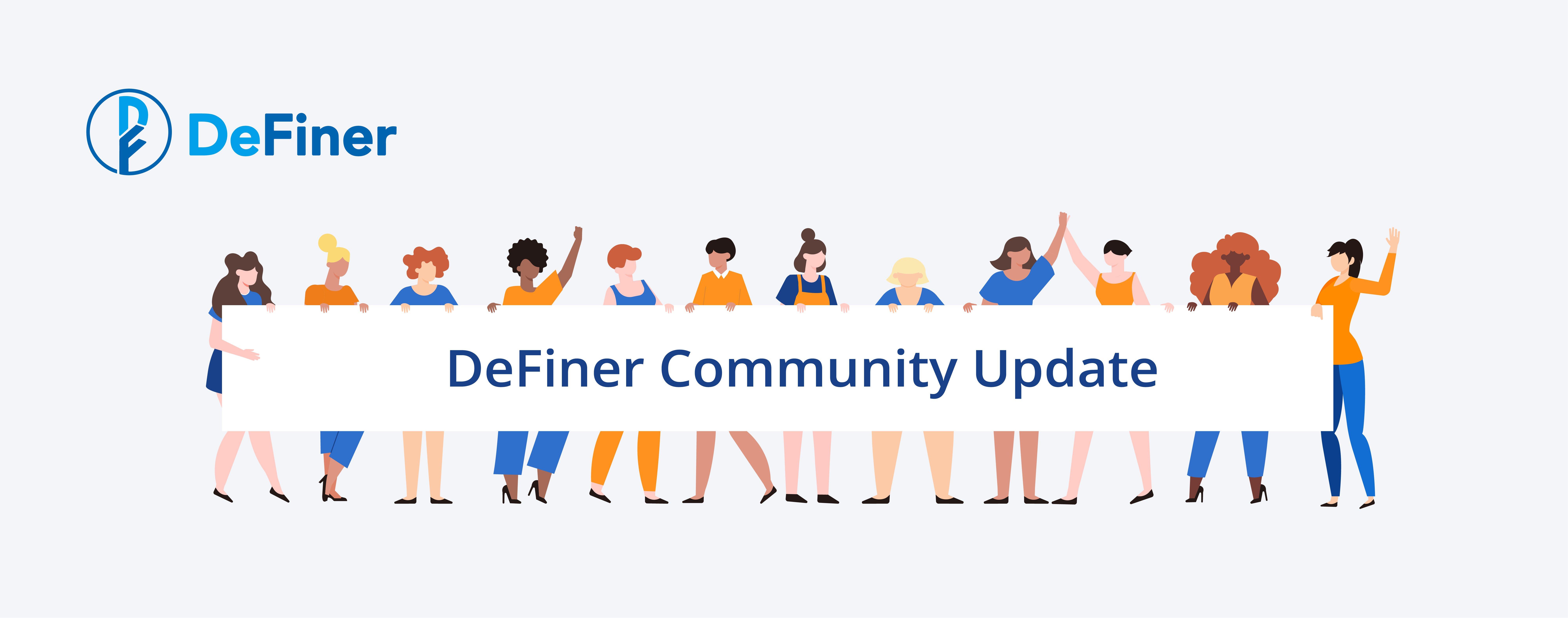 DeFiner Community Update_blog