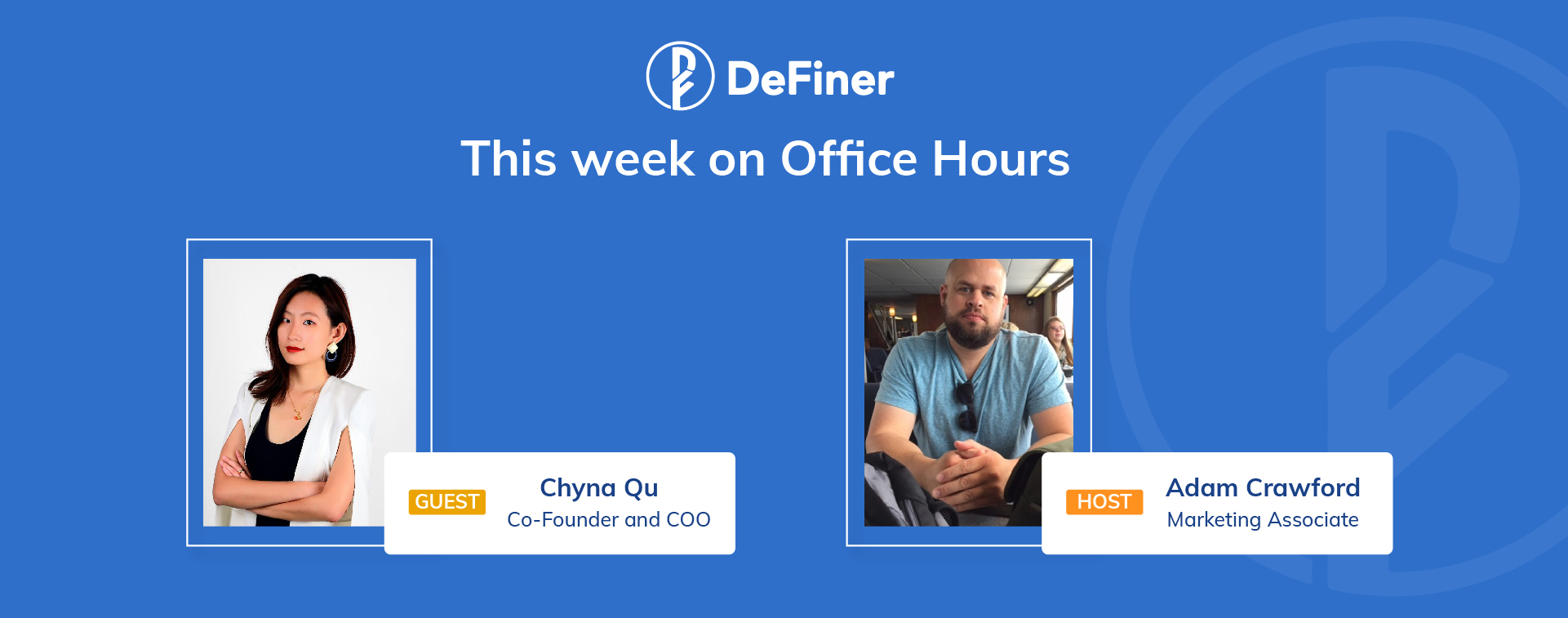 This week on Office Hours_Chyna_blog