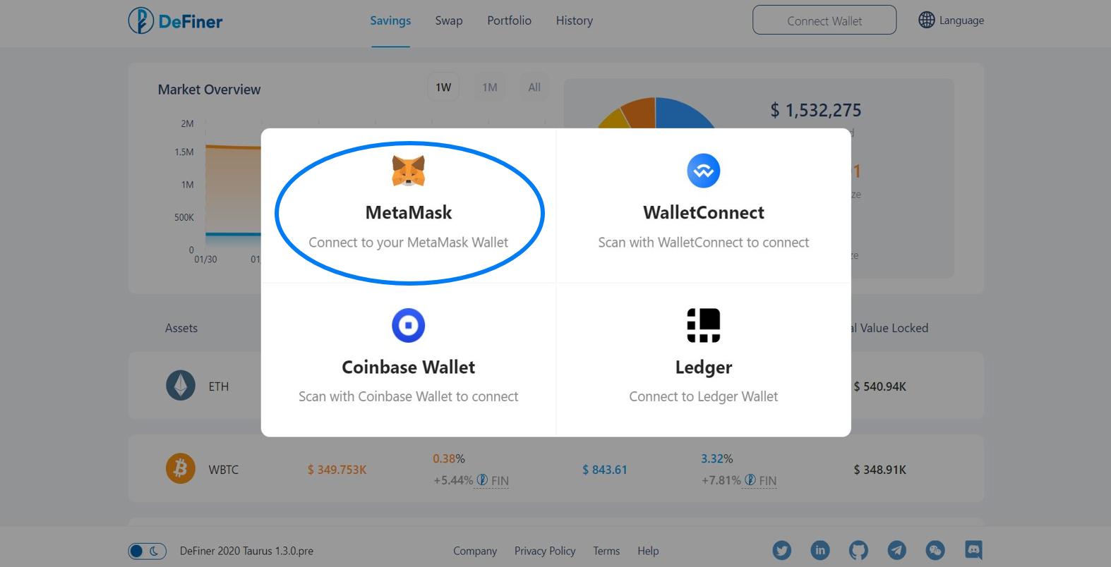 Wallet - MetaMask